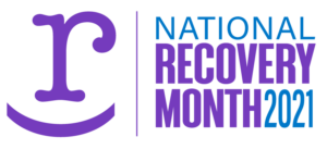 National Recovery Month logo 2021