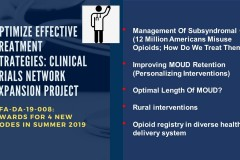 Interventions to Address Opioid Addiction